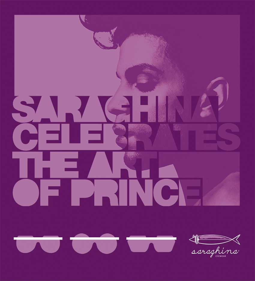 Saraghina celebrates the art of Prince, July 2016