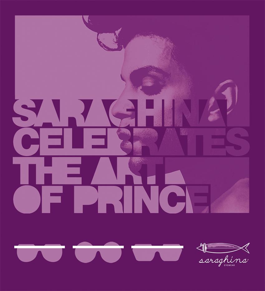 Saraghina celebrates the art of Prince, July 2016
